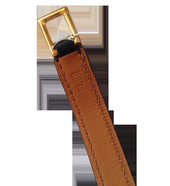 Bracelet Hermès Rivale Box noir
