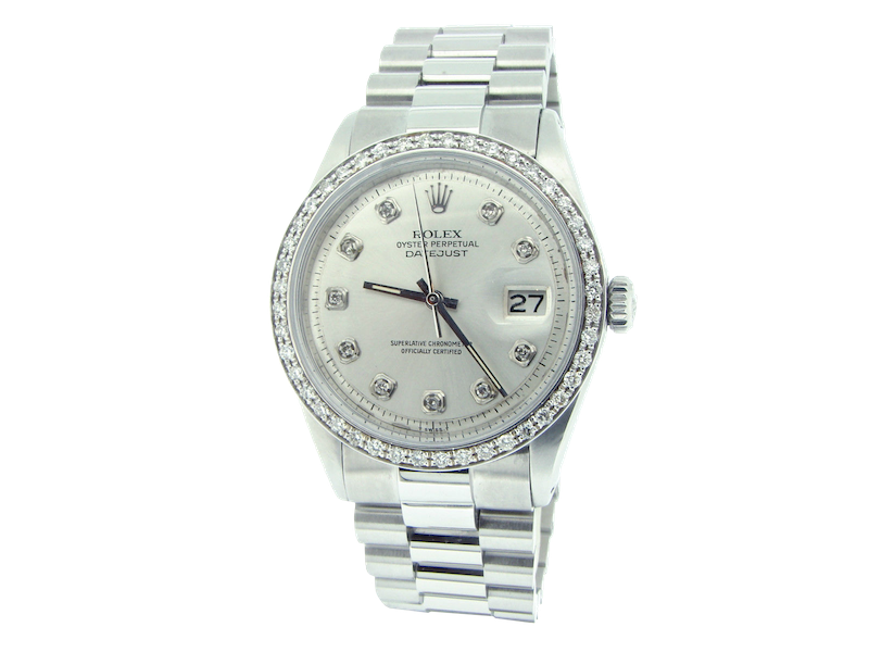Montre Rolex modèle Datejust Diamants