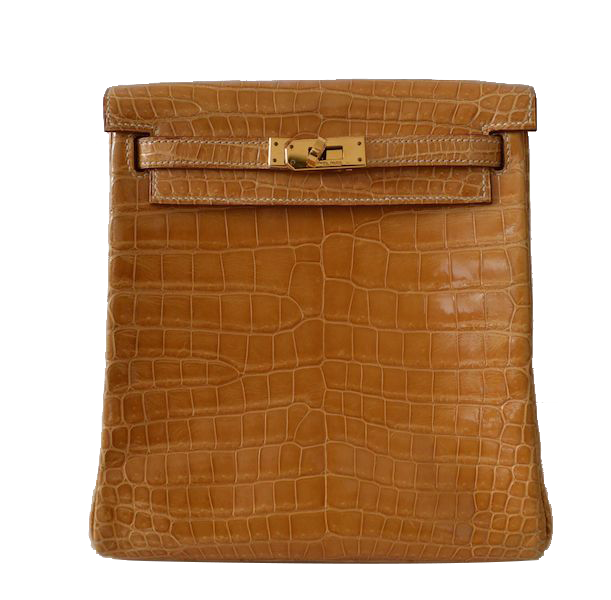 Hermès Kelly 20 Backpack Crocodile Porosus