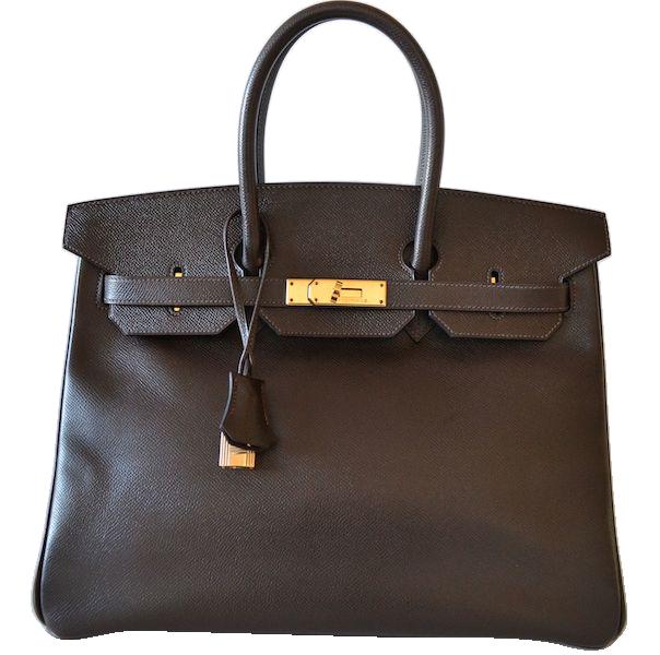 Hermès Birkin 35 Epsom Ebene