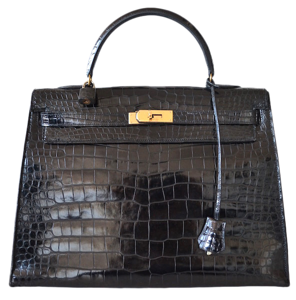 Hermès Kelly 35 crocodile Porosus