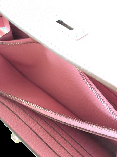 Portefeuille Hermès Kelly Epsom Rose Confetti