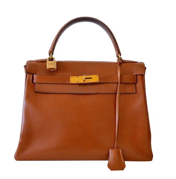 Sac Hermès Kelly 28 Courchevel gold