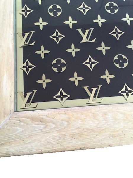 Miroir d'ornement Louis Vuitton