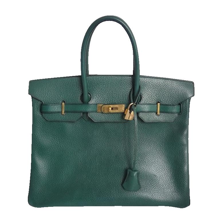 Hermes Birkin 35 Ardennes Vert Foret