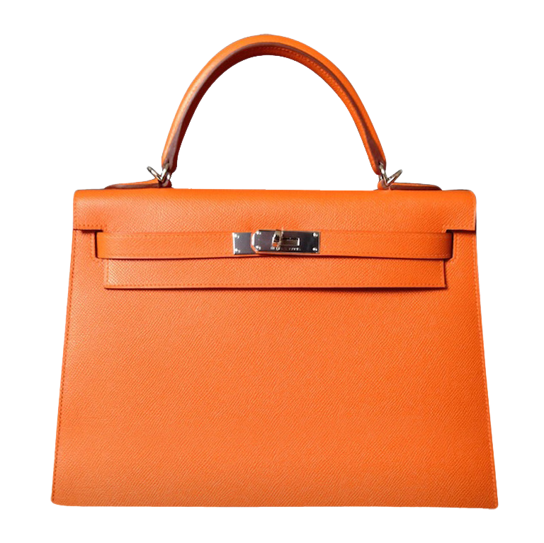 Hermès Kelly 32 Epsom Orange
