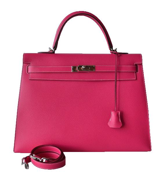 Hermès Kelly 35 Epsom Rose Tyrien