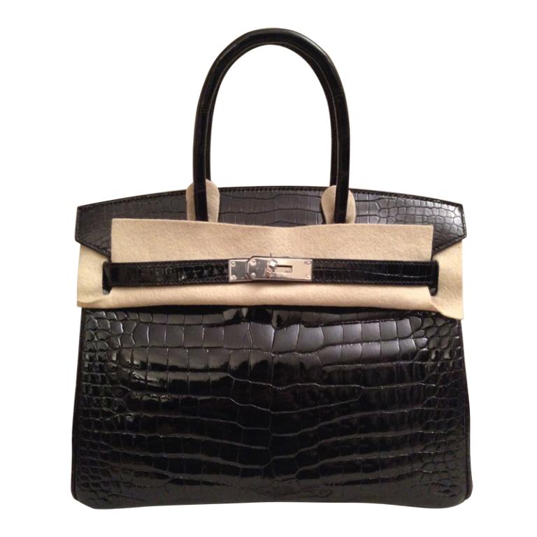 Hermès Birkin 30 Crocodile Porosus