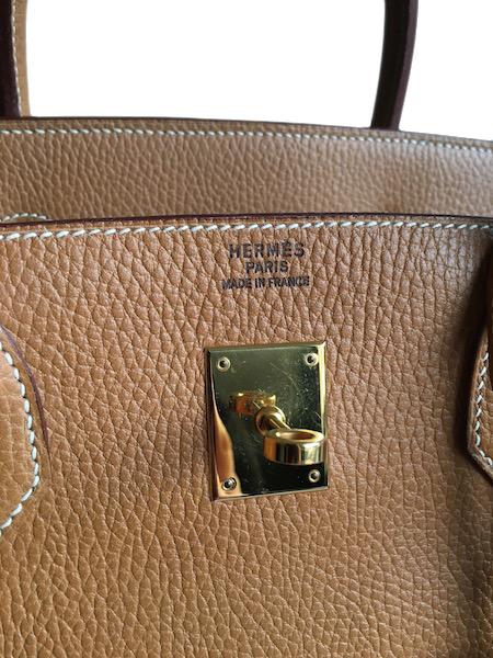 Hermès Birkin 40 Vache Ardennes Gold