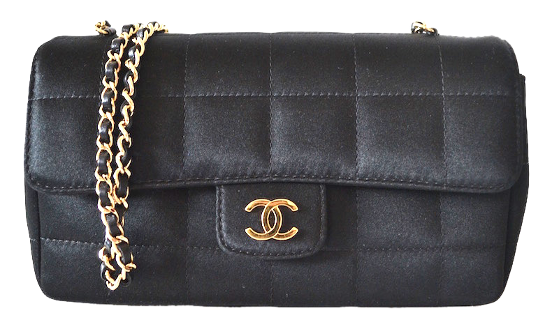 Sac Chanel Satin noir