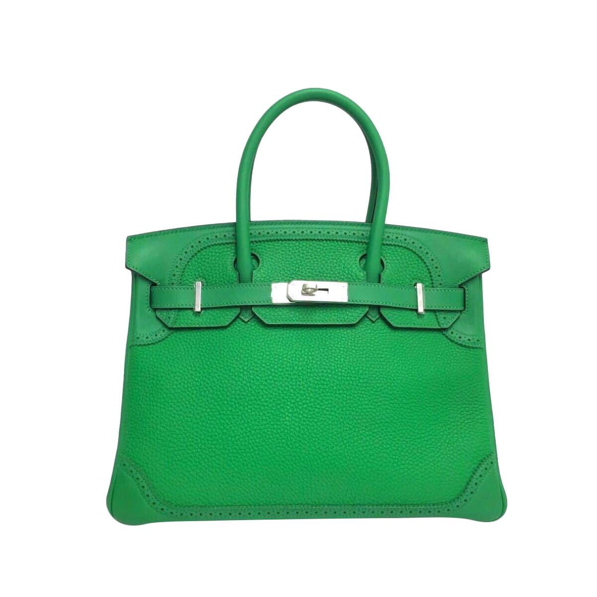 Hermès Birkin 30  Edition Ghillies