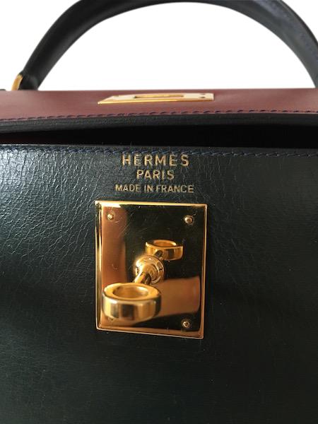 Sac Hermès Kelly 28 Tricolor